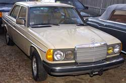 Listing of Mercedes-Benz chassis and model number