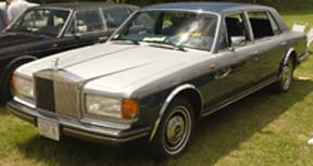 1984 Silver Spur, formerly owned by the Bhagwan Shree Rajneesh.